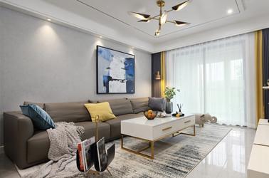 現代簡約-萬江新城地和苑-兩室一廳-100㎡