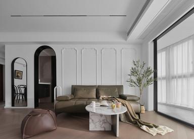 现代法式-星雨华府-两室一厅-93㎡