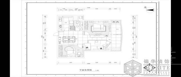 中南世纪城装修-小户型-现代简约