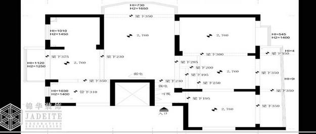 中天福邸装修-三室两厅-现代简约