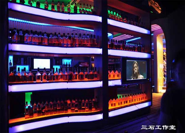酒吧装修-大户型-现代简约