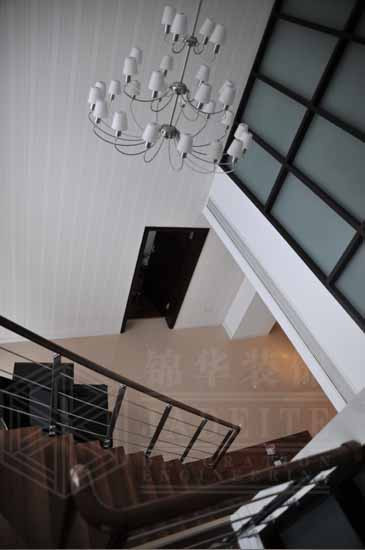 跃龙公寓装修-跃层复式-现代简约