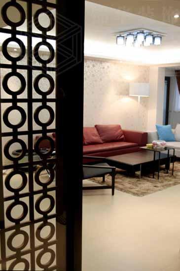 天虹花园装修-三室两厅-新中式