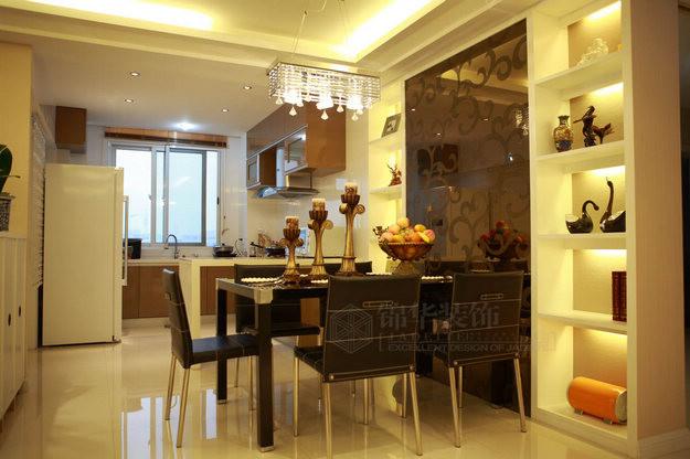 兆丰嘉园装修 三室两厅装修效果图 现代简约风格