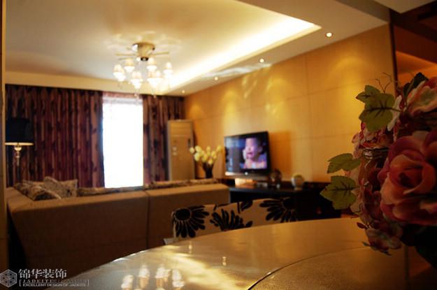 高迪晶城装修-三室两厅-现代简约