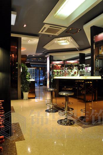 酒行装修 三室两厅装修效果图 现代简约风格 南通锦华装饰