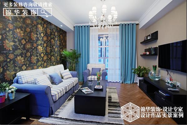美式田园  银洲·皇家花园  两室一厅  98平米