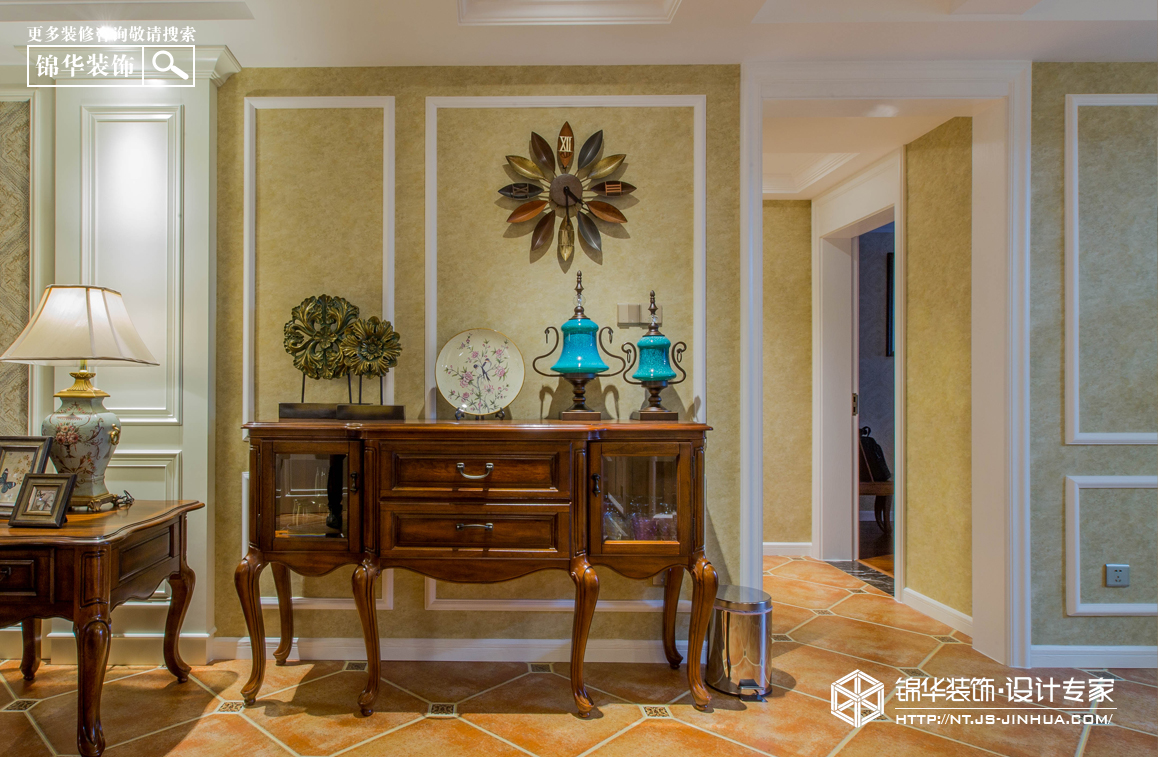 苏建名都城130平欧式风格实景图装修-三室两厅-简欧