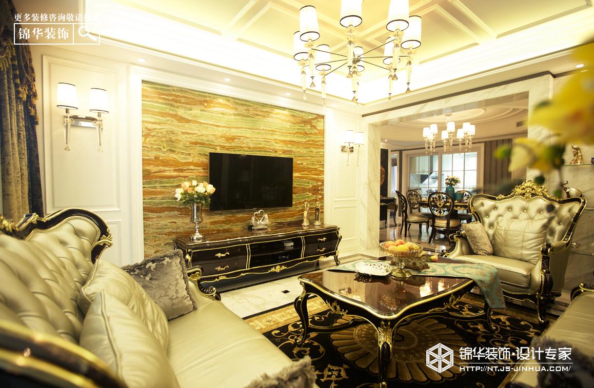 华强城138平新古典风格实景图