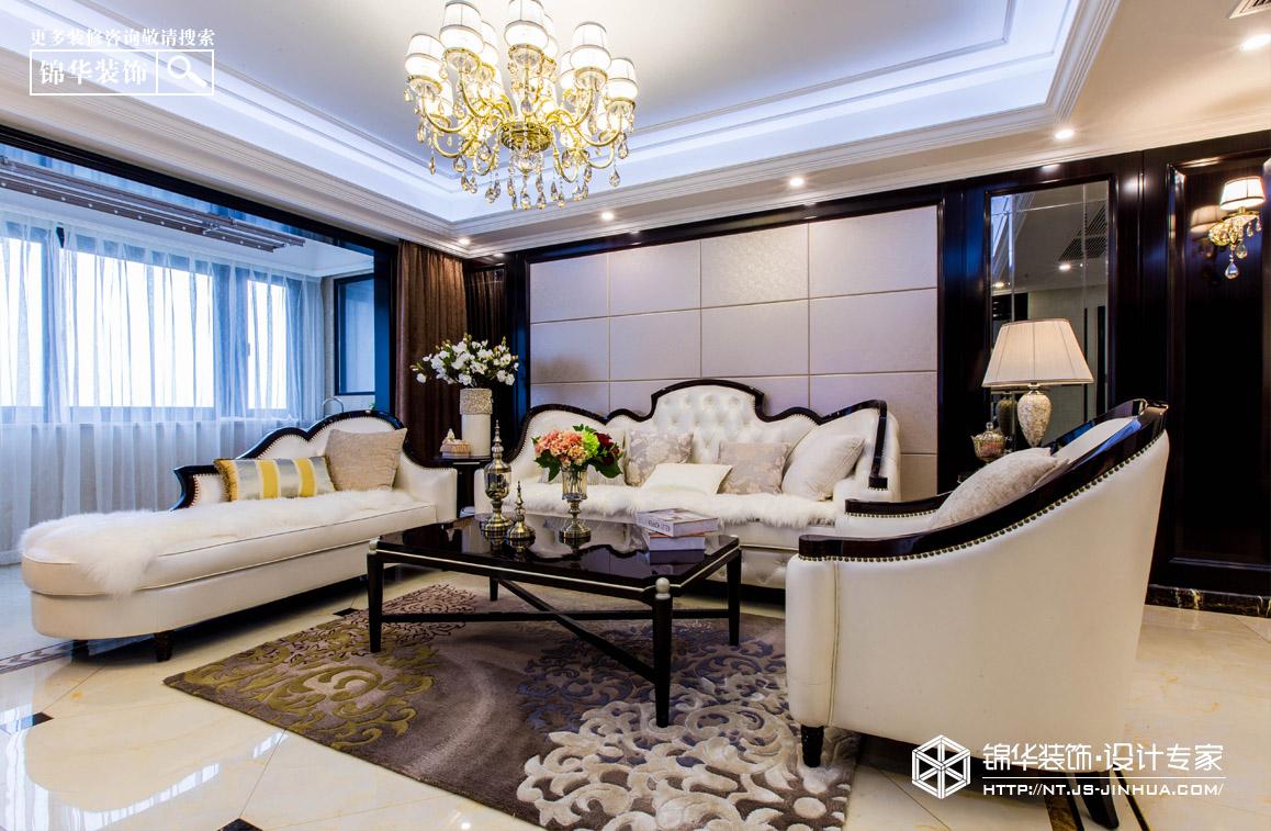 中港城142平新古典风格实景图