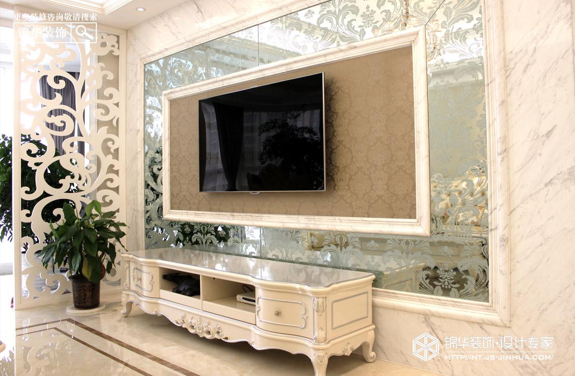 【金色成品】——醒在城堡中的白色慵懒装修-三室