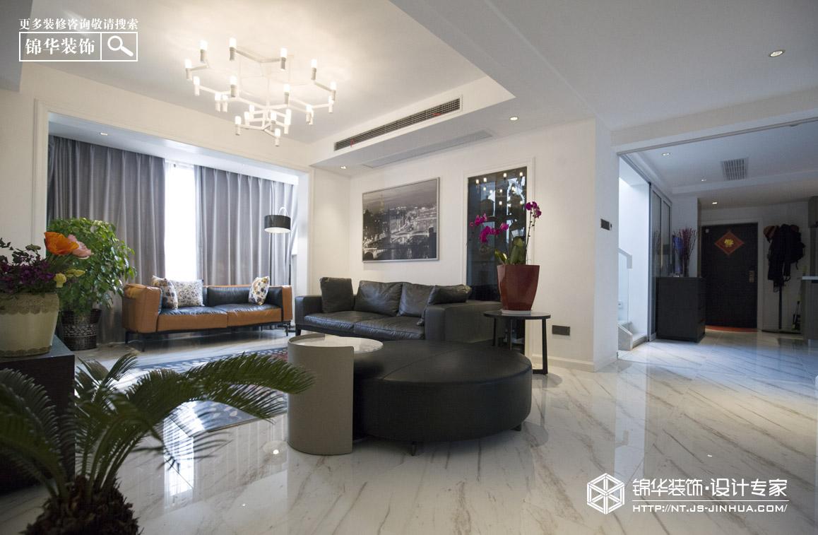 华强城200平现代简约风格实景图