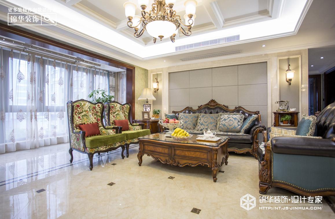 益兴名流府160平欧式混搭风格实景图装修-三室两厅
