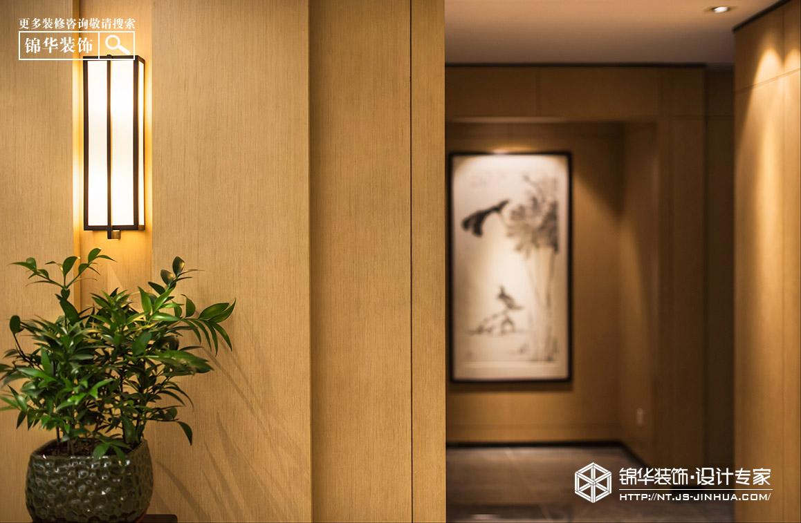 壹城252平新中式风格实景图装修-大户型-现代简约