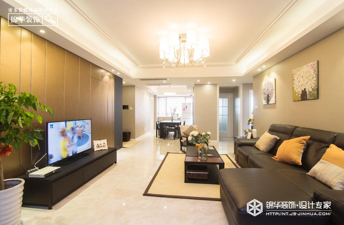 中港城110平现代简约风格实景图