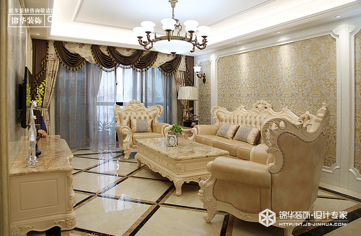金水湾(海安)190平欧式风格实景图