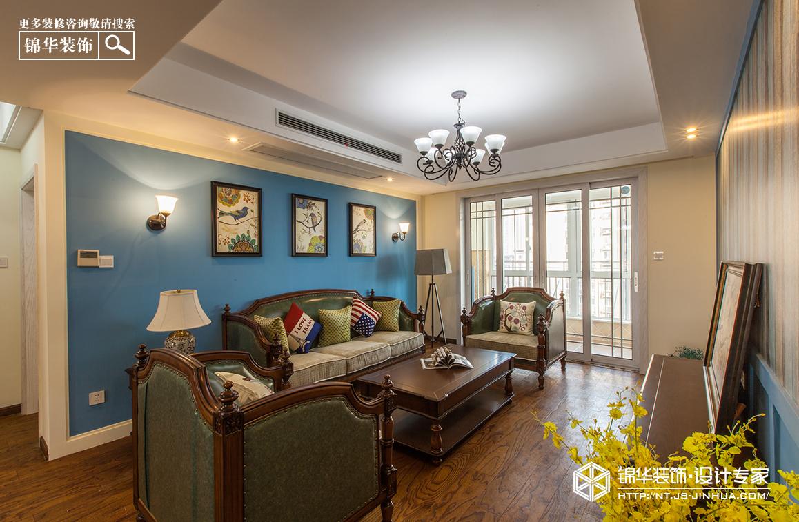 永怡家园140平美式风格实景作品