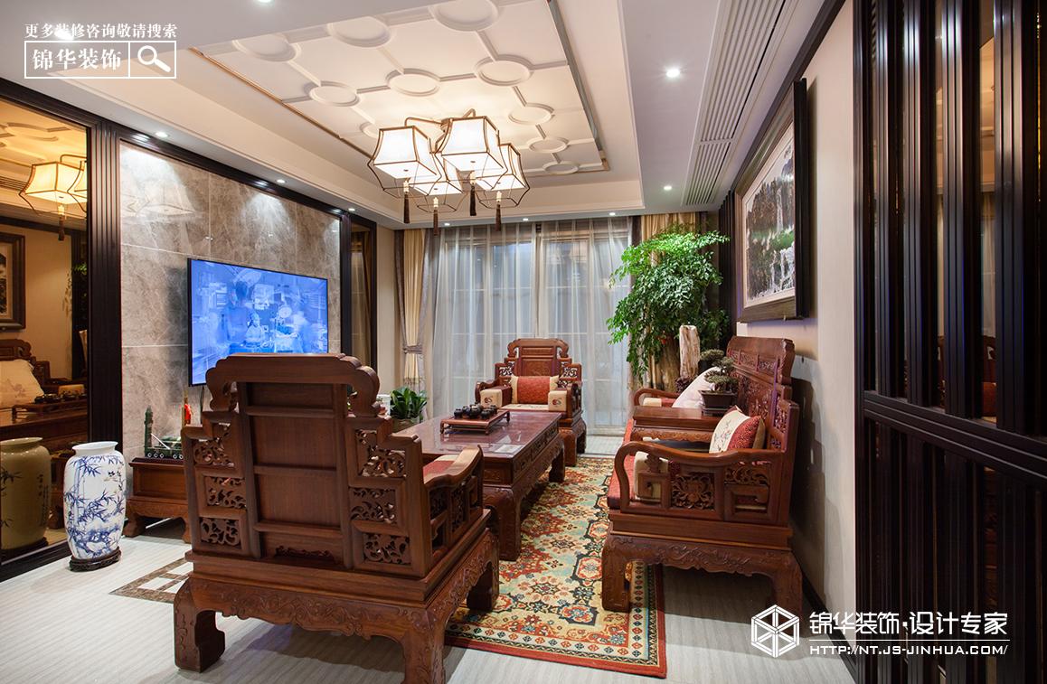 新中式 万濠星城 四室两厅 160平米