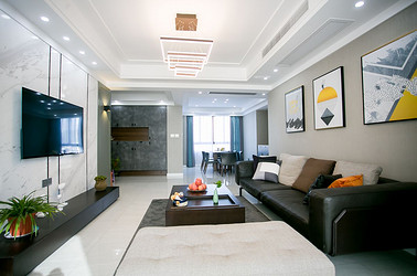 现代简约 书香华府 两室两厅 128平米