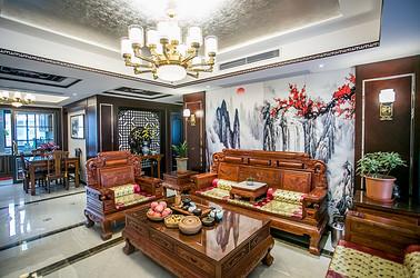 新中式 金色城邦 两室一厅 100平米