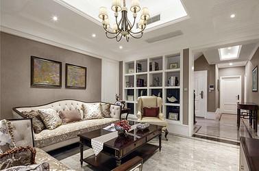 美式风格 青春家园 三室两厅 135平米