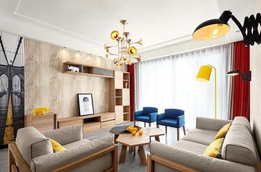北欧风格 海安金水湾 三室两厅 130平米