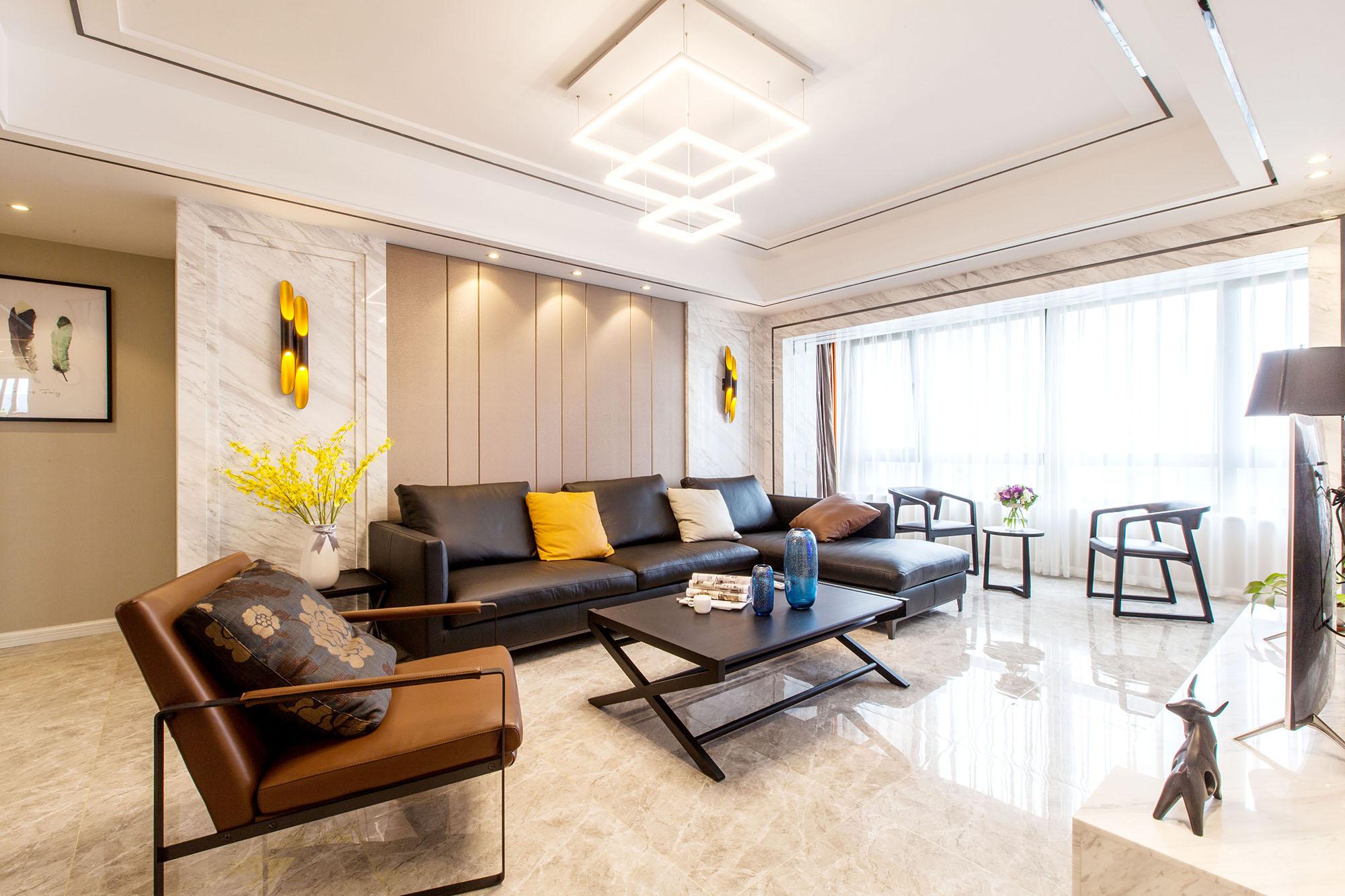 现代简约 保利香槟国际 三室两厅 155平米