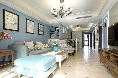 美式田园  南京紫金华府  两室两厅  100平米