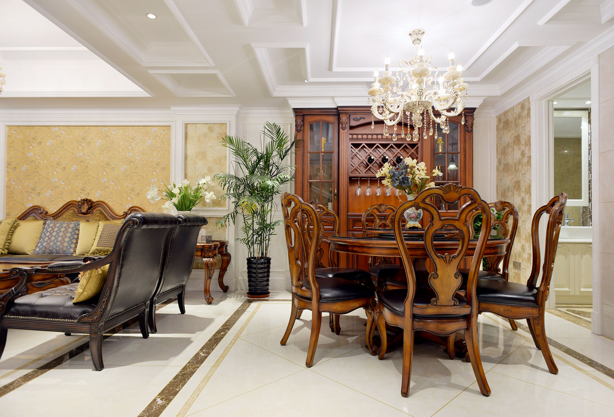 英伦上院叠加别墅美式风格实景图