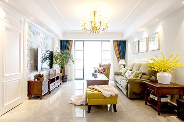 美式风格 观阳名邸 三室两厅 120平米