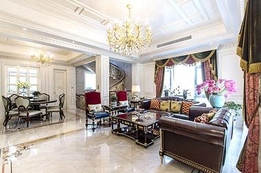 法式风格 碧桂园  400平米 别墅装修设计