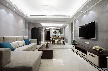 现代简约 棕榈湾 三室两厅 120平米