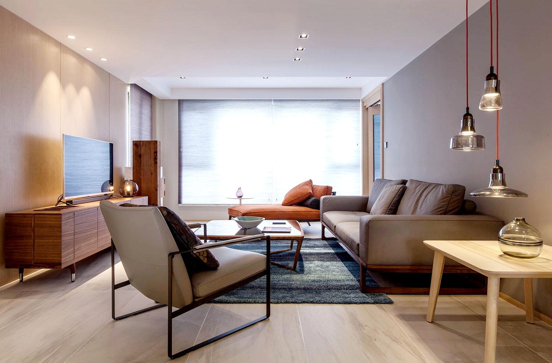 现代简约  苏建名都城   三室两厅  135平米