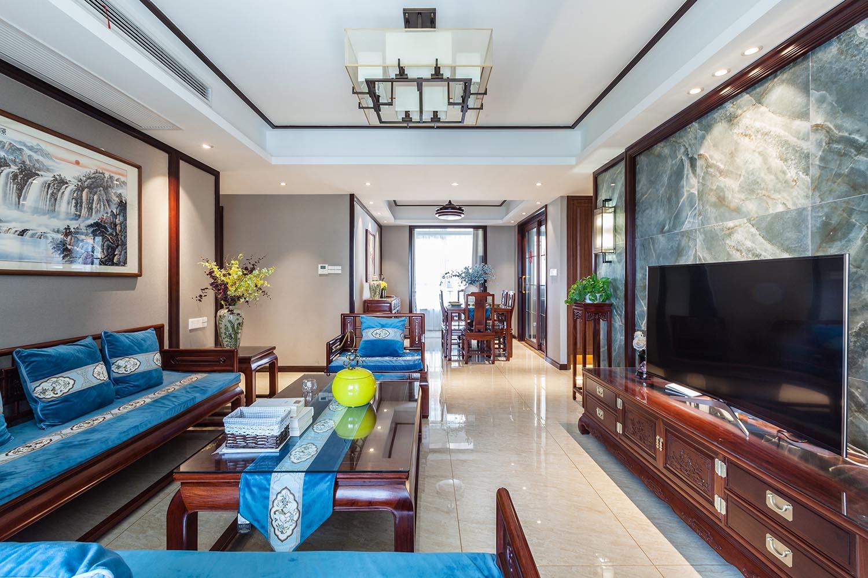 新中式 华润悦景湾 四室两厅 140平米