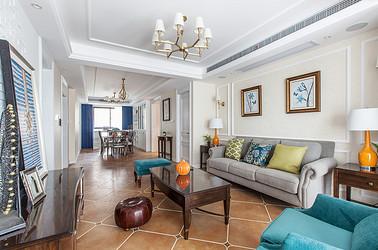 美式风格 海安盛世名门 三室两厅 140平米