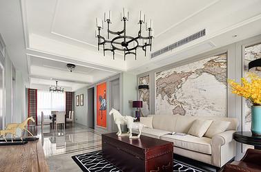 美式风格 盛世名门 三室两厅 140平米