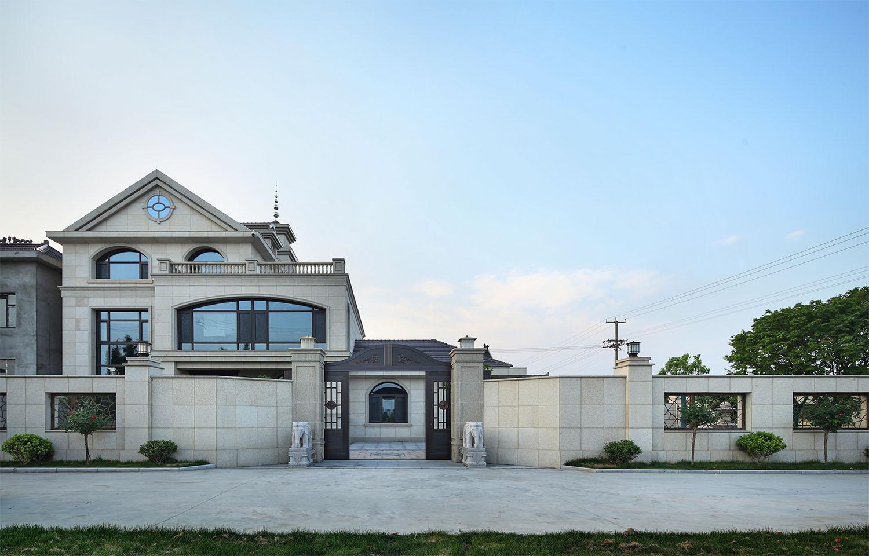 如皋·自建别墅—550平—新中式风格实景案例
