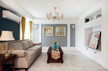 美式风格 凤凰莱茵苑 两室两厅 100平米