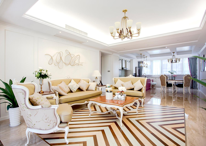 翠湖湾-180㎡-四室两厅-美式风格实景案例