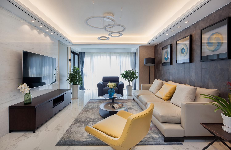 万濠世家—190平—现代轻奢风格实景案例