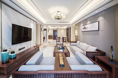 新中式 保利香槟国际 三室两厅 155平米