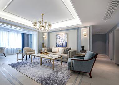 美式风格 星光耀 三室两厅 130平米
