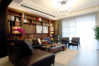 新中式 华强城 三室两厅 150平米