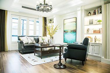 美式风格 苏建学府雅居 三室两厅 116平米