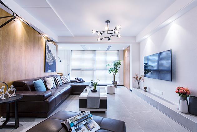 现代简约  万濠世家   三室两厅  125平米