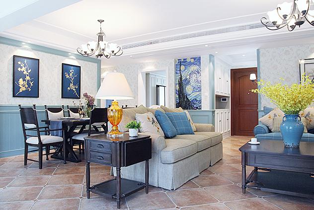 地中海  橡树湾  三室两厅    168平米