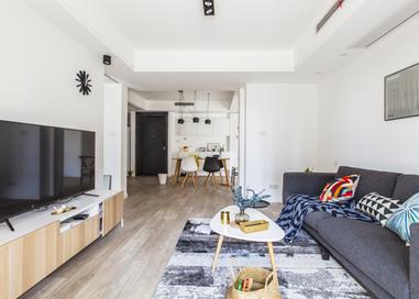 北欧风格 橡树湾 两室一厅 88平米
