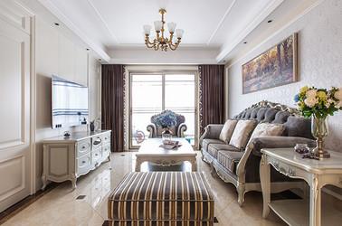中海碧林湾—140平—欧式风格实景案例