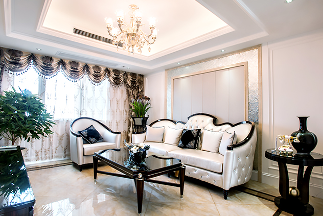 新古典—保利香槟国际—三室两厅—130平