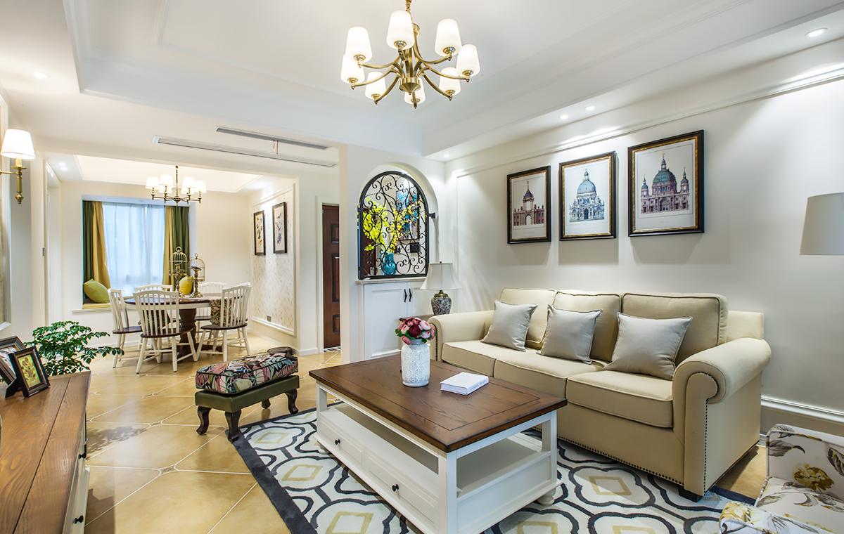 美式风格 星光域 三室两厅 123平米